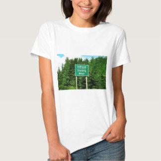 Road Sign, Judique, Cape Breton Tshirt