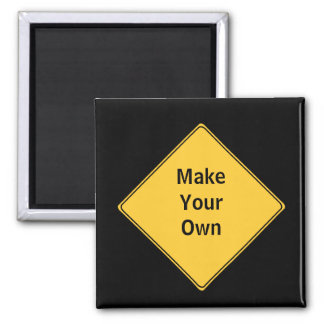 Road Sign- Make Your Own Magnet