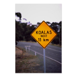 Road sign New South Wales, Australia