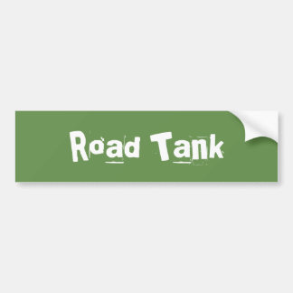 Road Tank Bumper Sticker