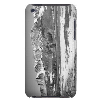 Road through alpine wilderness barely there iPod case