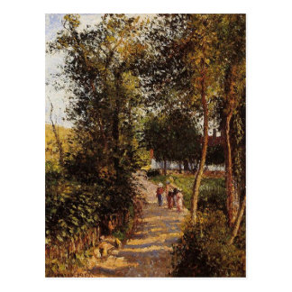 Road to Berneval-le-Petit by Camille Pissarro Postcard