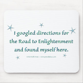 Road to Enlightenment mouse pad Mousepads