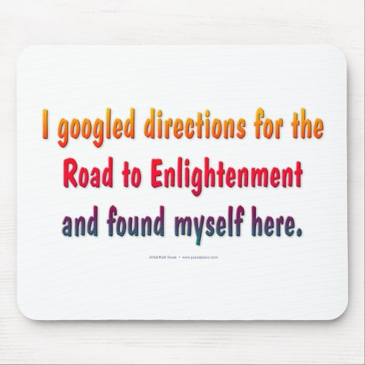 Road to Enlightenment mouse pad Mouse Pads