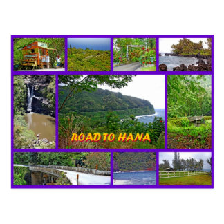 Road to Hana Postcard