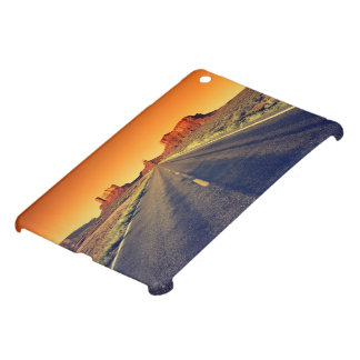 Road To Monument Valley At Sunset Cover For The iPad Mini