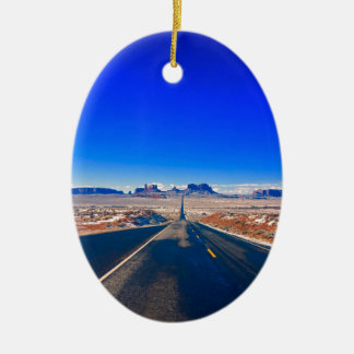 Road to Monument Valley Christmas Ornament