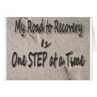 Road To Recovery Card