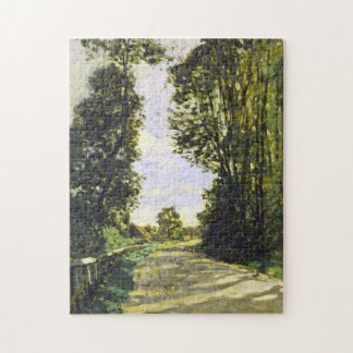 Road to Saint-Siméon Farm Monet Fine Art Jigsaw Puzzle