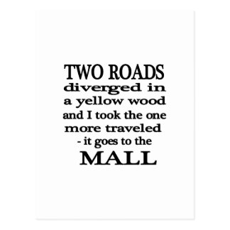 Road to the Mall Postcard