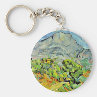 Road To The Montagne Sainte-Victoire Keychain
