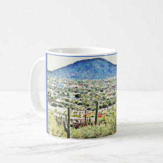 Road to Tonto Painting Classic Mug