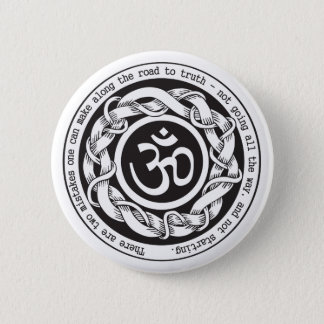 Road to Truth Om 2 Inch Round Button