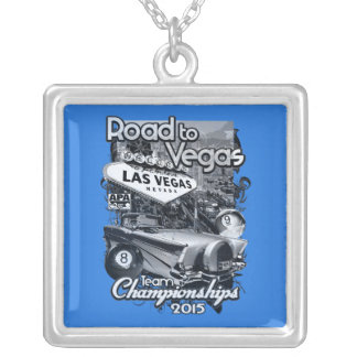Road to Vegas 2015 Silver Plated Necklace