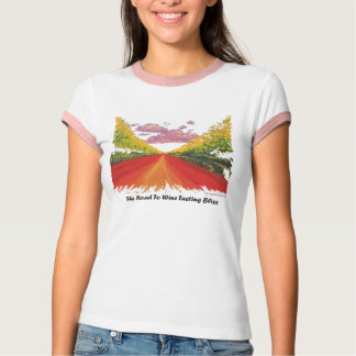 Road To Wine Tasting Bliss T-Shirt