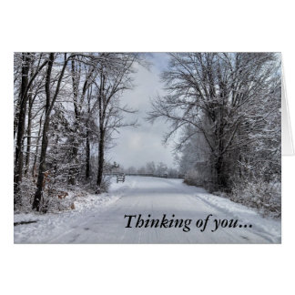"Road to Winter ""Thinking of You"" cards"