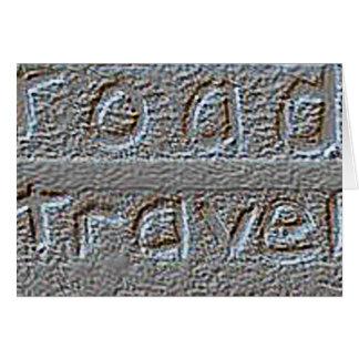 Road Travel   'Tailgate Talk' Greeting Card