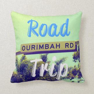 Road Trip Beach Style Cushion