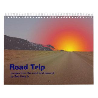 Road trip cale calendar