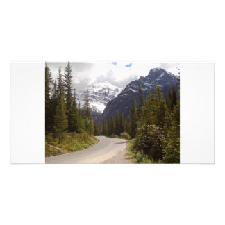 road trip personalized photo card