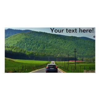 Road trip photo card