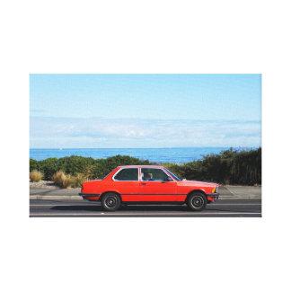 Road Trip (Red/Blue) canvas print