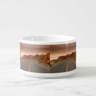 Road trip sunset bowl