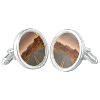 Road trip sunset cufflinks