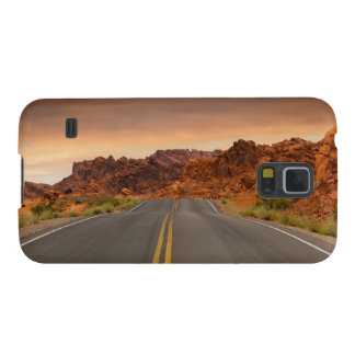 Road trip sunset galaxy s5 covers