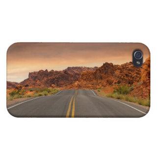 Road trip sunset iPhone 4 case