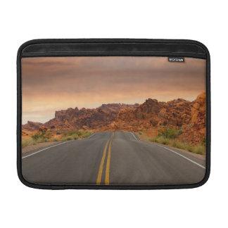 Road trip sunset MacBook sleeve