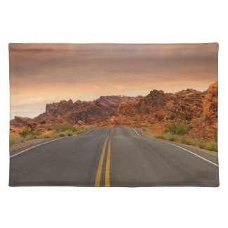 Road trip sunset placemat