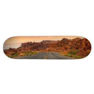 Road trip sunset skateboard deck