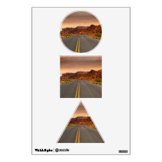Road trip sunset wall sticker
