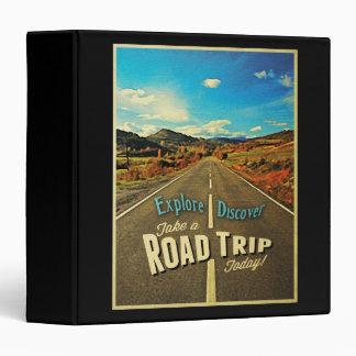 Road Trip Vinyl Binders