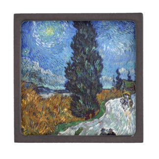 Road with Cypress and Star Premium Gift Box