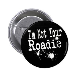 Roadie 4 Dk Pinback Buttons