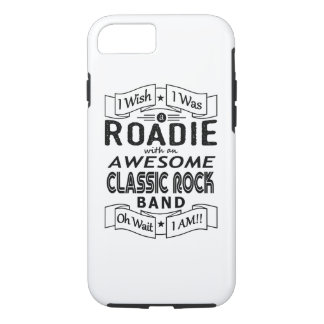 ROADIE awesome classic rock band (blk) Case-Mate iPhone Case