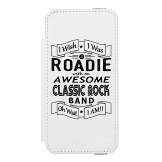 ROADIE awesome classic rock band (blk) Incipio Watson™ iPhone 5 Wallet Case