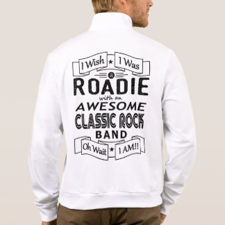 ROADIE awesome classic rock band (blk) Jacket