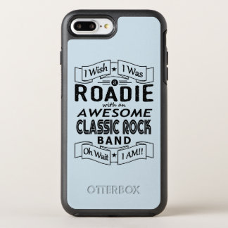 ROADIE awesome classic rock band (blk) OtterBox Symmetry iPhone 8 Plus/7 Plus Case