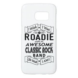 ROADIE awesome classic rock band (blk) Samsung Galaxy S7 Case
