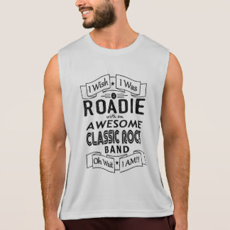 ROADIE awesome classic rock band (blk) Tank Top