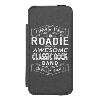 ROADIE awesome classic rock band (wht) Incipio Watson™ iPhone 5 Wallet Case