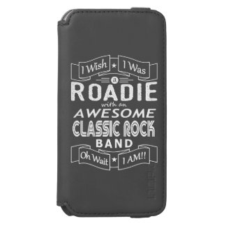 ROADIE awesome classic rock band (wht) Incipio Watson™ iPhone 6 Wallet Case