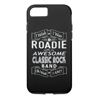 ROADIE awesome classic rock band (wht) iPhone 8/7 Case