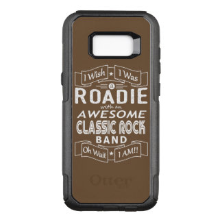 ROADIE awesome classic rock band (wht) OtterBox Commuter Samsung Galaxy S8+ Case