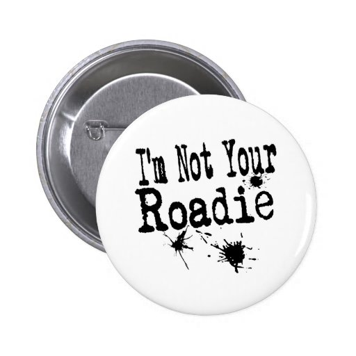 Roadie Pinback Buttons