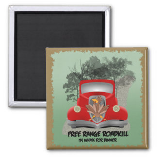 Roadkill Dinner Magnet