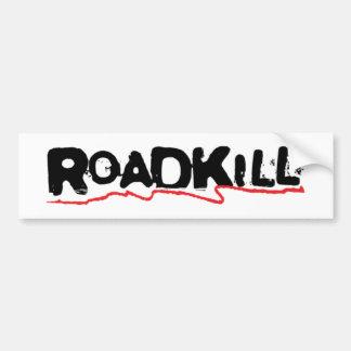Roadkill Sticker